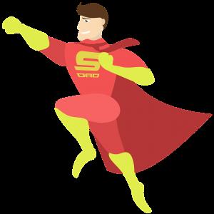 ヒーローの画像